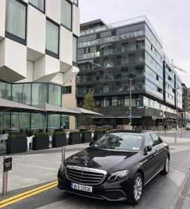 Wedding Chauffeur for the Marker Hotel